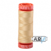 Aurifil 50 Cotton Thread - 2125 (Wheat)